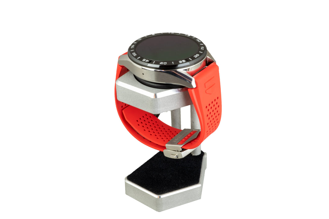 Artifex Design Stand Configured for 3rd Generation TAG Heuer Connected 2020 Aluminum (Includes USB Cable) - Artifex Design 3D