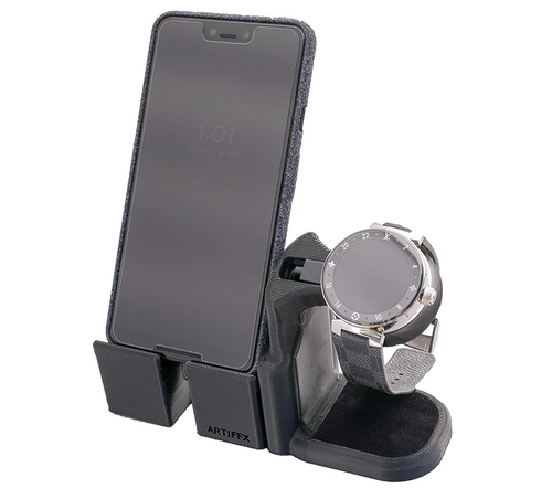 Artifex Design Stand Configured for Louis Vuitton Tambour Horizon Smartwatch Charging Combo Stand - Artifex Design 3D