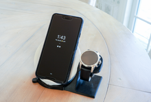 Load image into Gallery viewer, Artifex Design Stand Configured for MontBlanc Summit 2 Smartwatch Charging Stand Wireless Combo - Artifex Design 3D