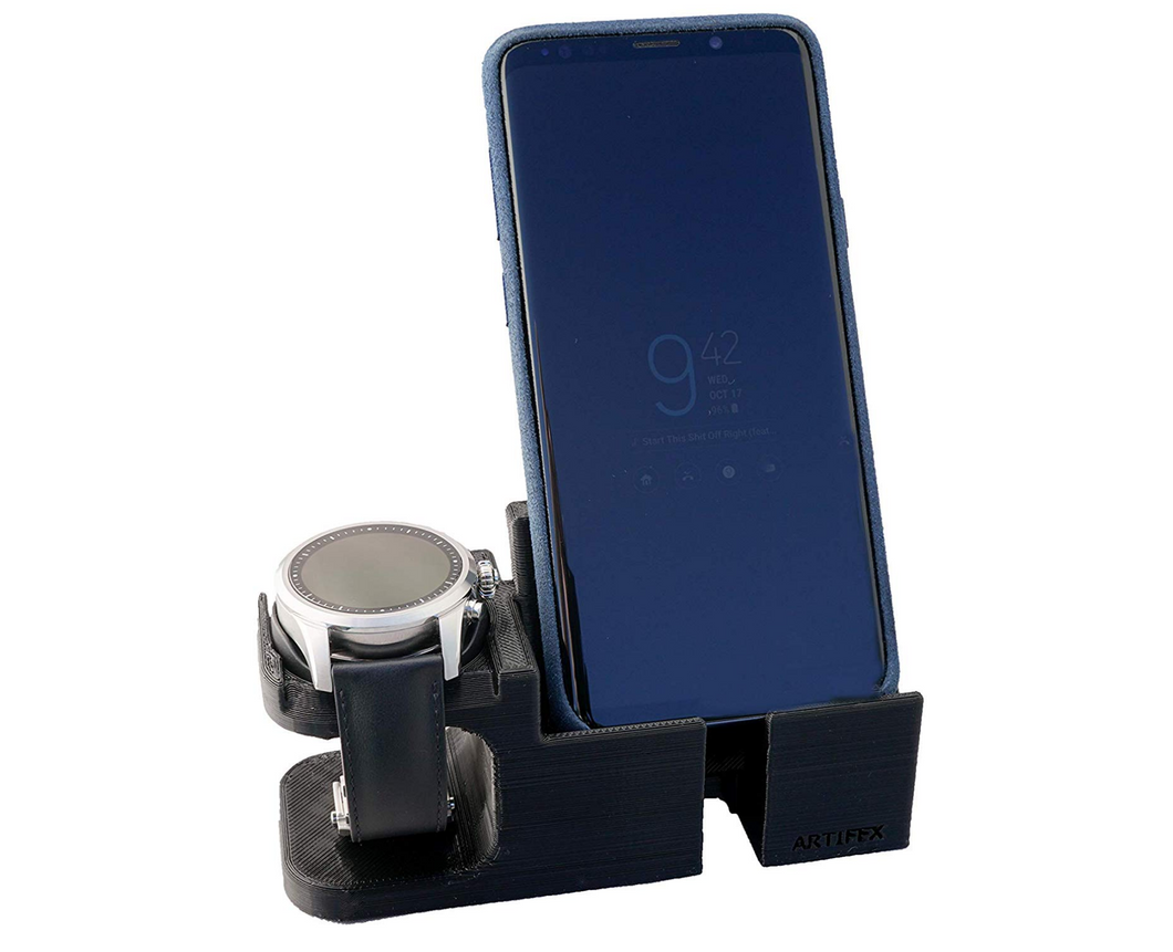 Artifex Design Stand Configured for MontBlanc Summit 2 Smartwatch Phone Combo - Artifex Design 3D