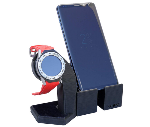 Artifex Design Stand for 2nd Generation TAG Heuer Connected Modular 41 Smartwatch, Phone Combo - Artifex Design 3D