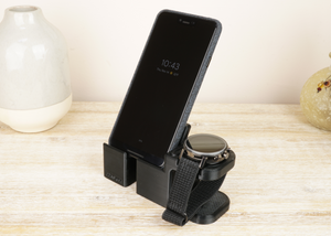 Artifex Design Stand Configured for Movado 2.0 Smartwatch Charging Stand Combo (Will not fit Gen 1) - Artifex Design 3D