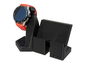 Artifex Design Stand Configured for 3rd Generation TAG Heuer Connected 2020 Phone Combo (Includes USB Cable) - Artifex Design 3D