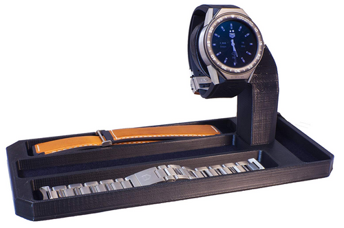Artifex Design Stand for 2nd Generation TAG Heuer Connected Modular 45 Smartwatch Strap Combo - Artifex Design 3D
