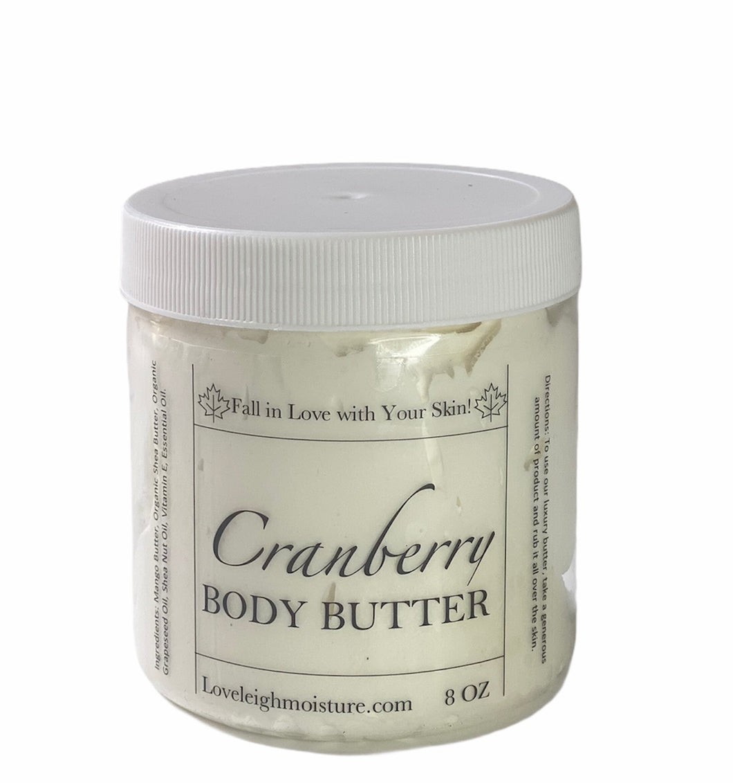 Cranberry Body Butter