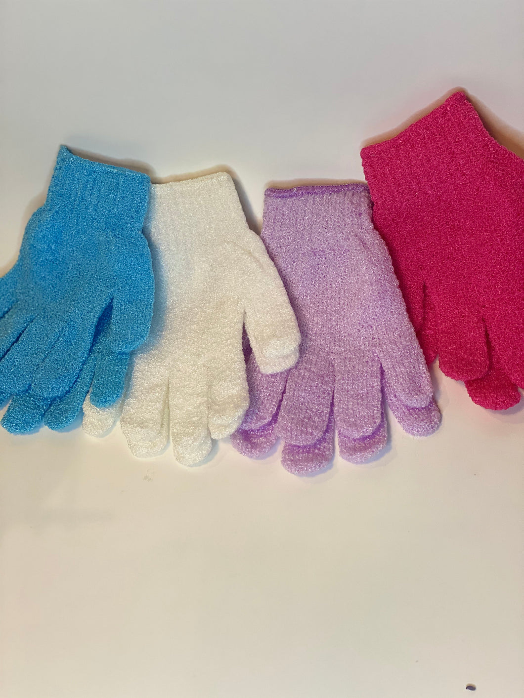 Matching Exfoliating Gloves