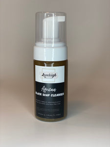 Foaming African Black Soap Cleanser