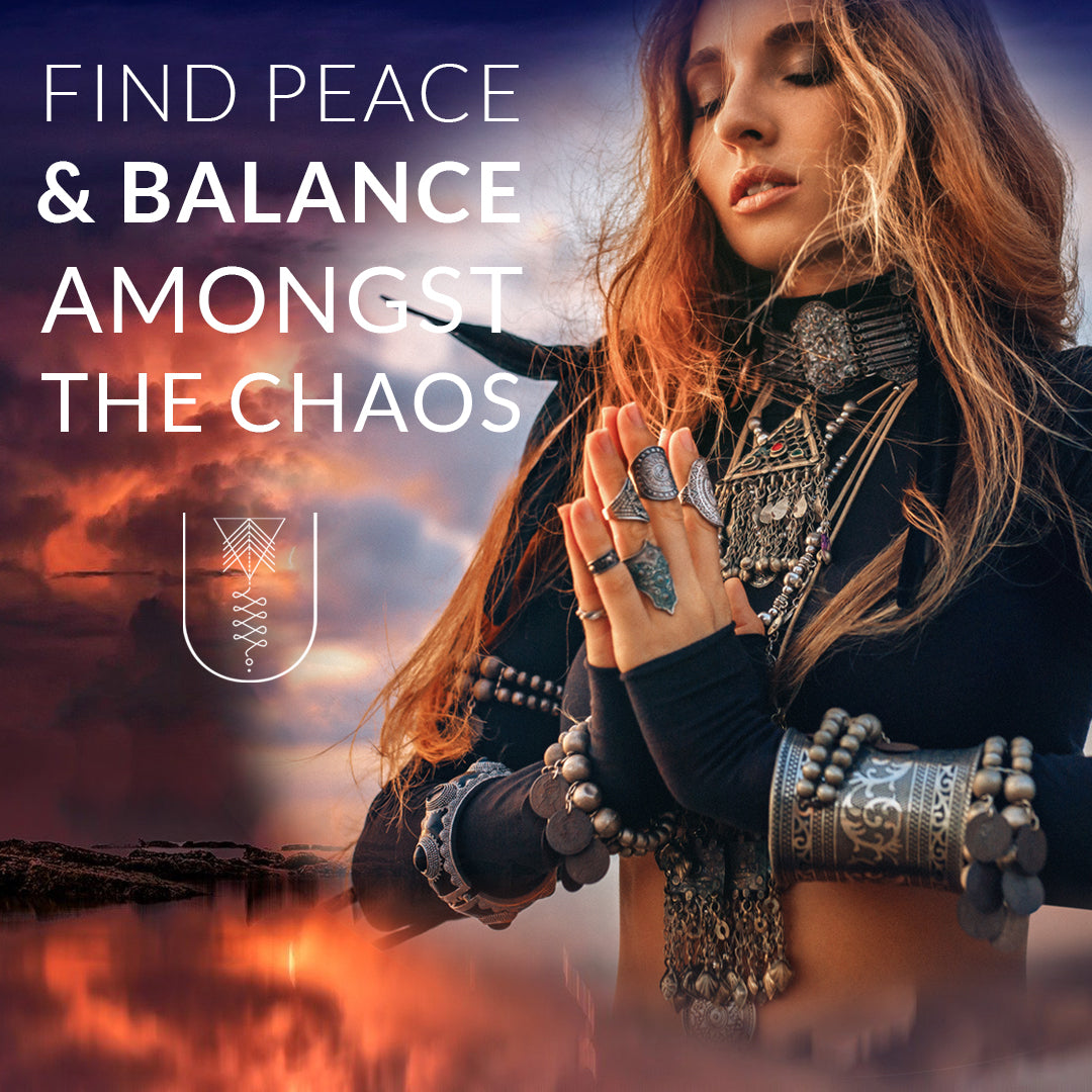 How To Find Peace & Balance Amongst the Chaos