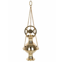 Metal Triple Moon Incense Censer
