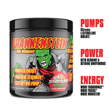 Load image into Gallery viewer, FRANKENSTEIN PRE-WORKOUT