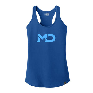 MD Sports NEW ERA Women Workout Tank Top