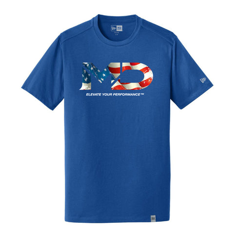 MD USA Logo Men's New Era T-Shirt