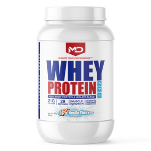 MD Whey 100% Whey Protein & Isolate Blend