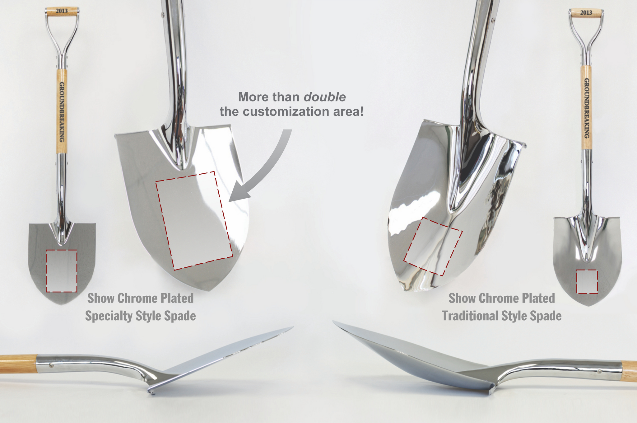 Traditional vs. Specialty Chrome Shovels