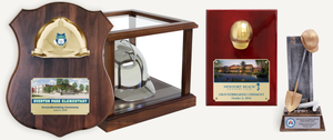 Ceremonial Hard Hat Awards, Plaques, & Display Cases
