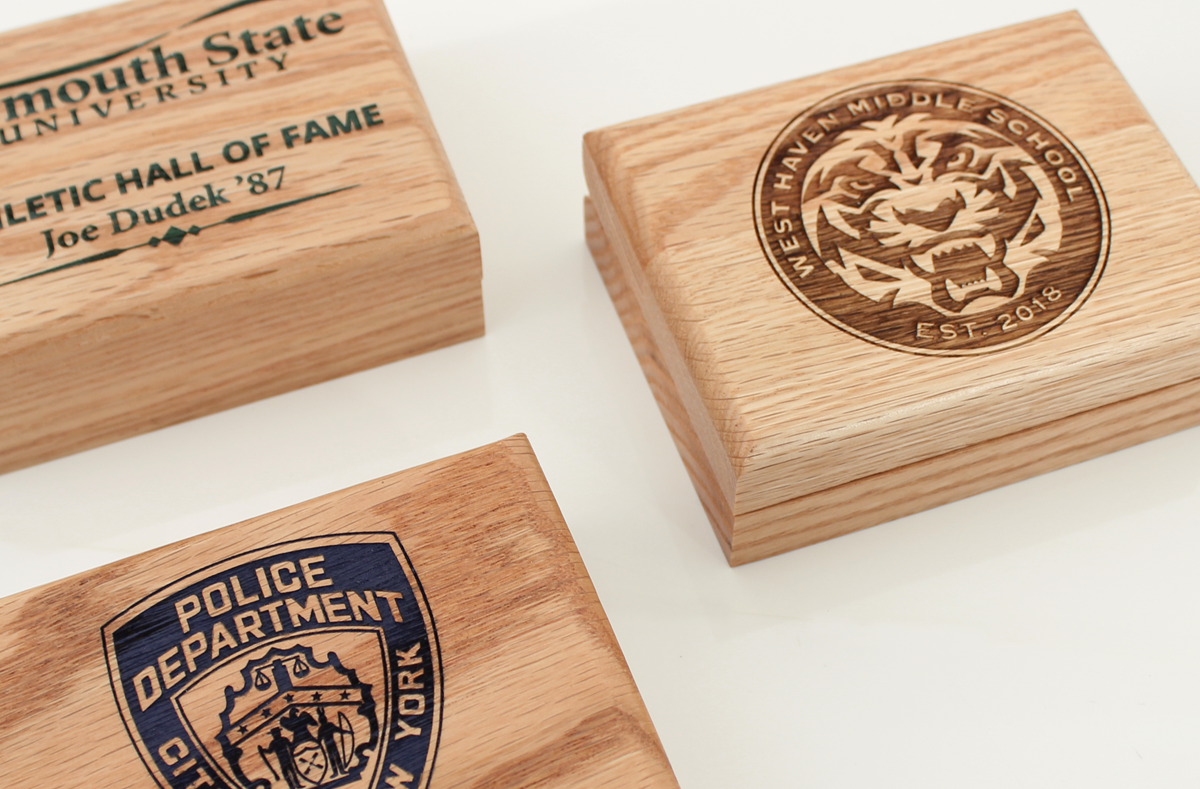 Laser Engraved Wooden Gift Boxes