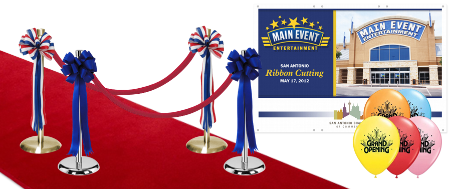 RIBBON CUTTING EVENT ACCESSORIES