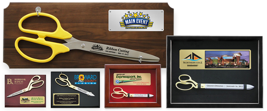 GRAND OPENING & RIBBON CUTTING PLAQUES & AWARDS