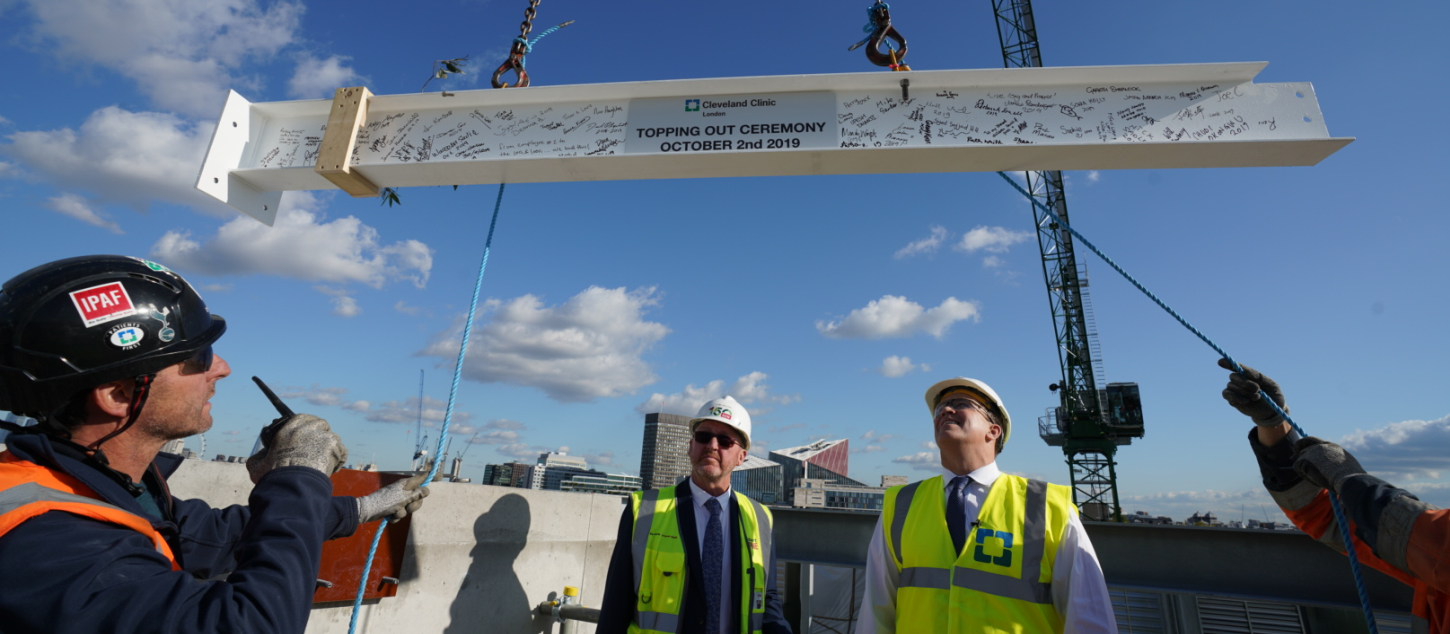 Topping Off / Topping Out Ceremonies