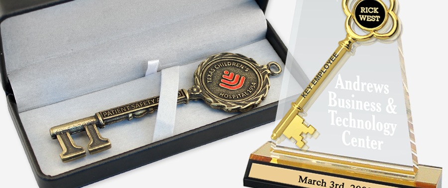 CEREMONIAL KEY AWARDS & PRESENTATION CASES