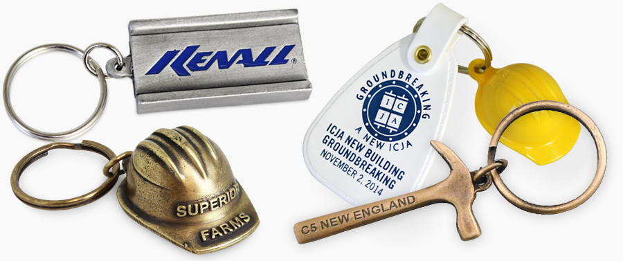 Construction Keychains