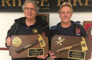 Gold Firefighter Axe Award