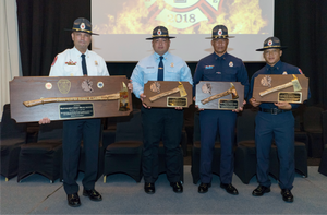 Firefighter Award Plaques