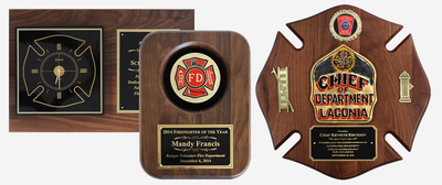 Firefighter Plaque Awards & Gifts