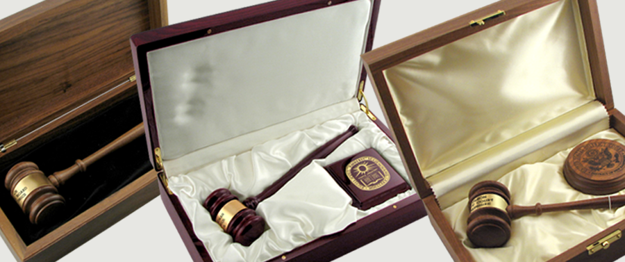 Ceremonial Gavel Sets