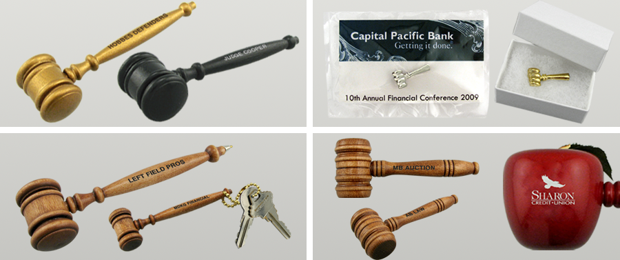 Gavel Keepsakes & Giveaways