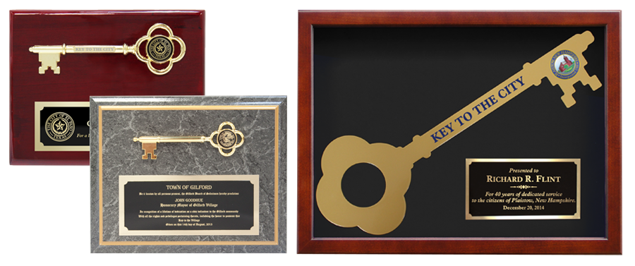 KEY PLAQUES & DISPLAY CASES