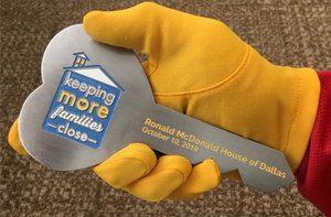 Ronald McDonald House Key