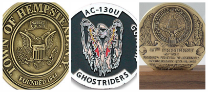 Medals, Medallions & Coins