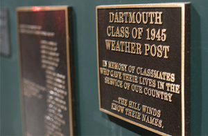 Dartmouth Metal Plaque