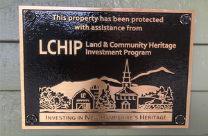 LCHIP Metal Plaque
