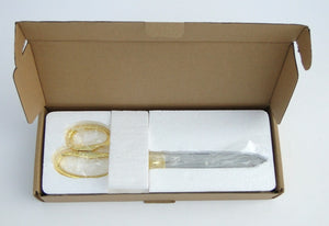 Specially Designed Packaging for Our Ceremonial Scissors