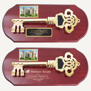 "16"" x 7"" Ceremonial Key Plaque"