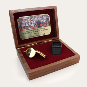 24KT Gold Plated Whistle Award