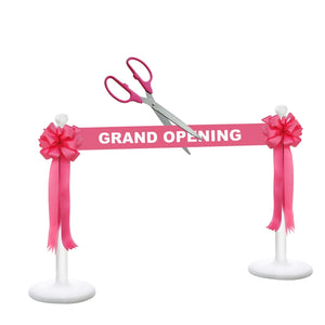 "Deluxe Grand Opening Kit - 25"" Ceremonial Scissors with Silver Blades"