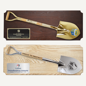 "42"" x 16"" Full Size Shovel Plaque"