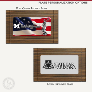 Plate Personalization Options