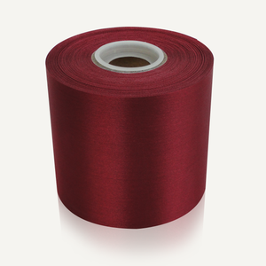 "4"" Wide Ceremonial Ribbon - Burgundy"