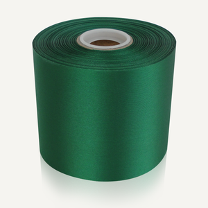 "4"" Wide Ceremonial Ribbon - Green"