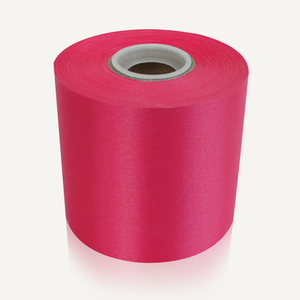 "4"" Wide Ceremonial Ribbon - Raspberry"
