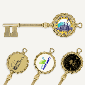 "6"" Gold Plated Ceremonial Key"