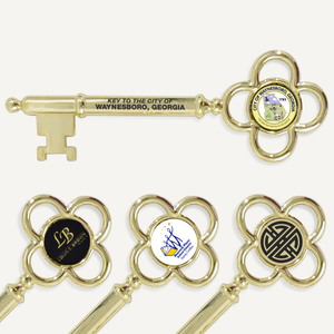 "8"" Gold Plated Ceremonial Key"