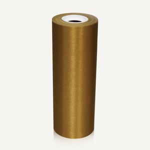 Gold 8in Wide Satin Ceremonial Ribbon