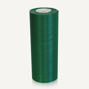 8in Wide Satin Ceremonial Ribbon - Green