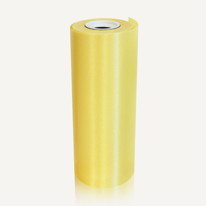 Yellow 8in Wide Satin Ceremonial Ribbon