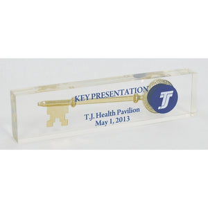 Ceremonial Key Acrylic Paperweight